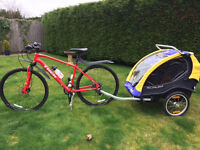 Burley Cub Bicycle Trailer for one or two children