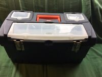 TOOL BOX, clean (never used as a tool box)