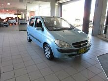 2008 Hyundai Getz TB Upgrade SX Blue 5 Speed Manual Hatchback Thornleigh Hornsby Area Preview