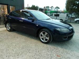 2007 Mazda 6 GG1032 MY07 Sports Blue 5 Speed Sports Automatic Hatchback Bayswater North Maroondah Area Preview