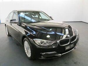 2014 BMW 320D F30 MY14 Black Sapphire 8 Speed Automatic Sedan Albion Brimbank Area Preview