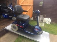 Amazing Sterling 3 Wheel Mobility Scooter Only £355 - Heavy Duty -Very Comfortable Ride-With Charger