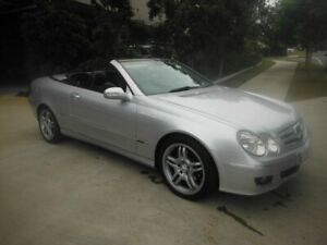 2006 Mercedes-Benz CLK200 Kompressor W209 Elegance Silver 6 Speed Automatic Cabriolet Kedron Brisbane North East Preview