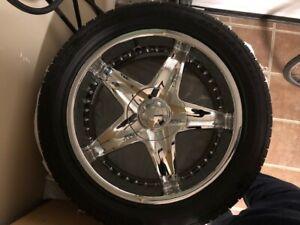Pirelli Pzero Russo avec Jantes - 255/45/18