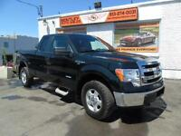 2013 Ford F-150 XLT 4X4 SUPER CAB, 3.5 V6 ECO BOOST WE FINANCE!!