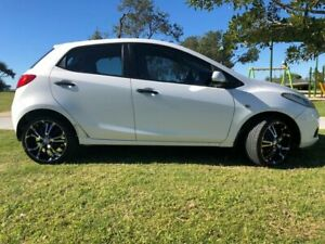 2010 Mazda 2 DE10Y1 MY10 Neo White 4 Speed Automatic Hatchback Tugun Gold Coast South Preview