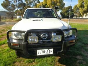 2007 Nissan Patrol White Manual Wagon Mile End South West Torrens Area Preview