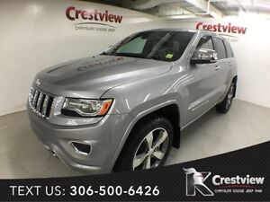 2015 Jeep Grand Cherokee Overland EcoDiesel w/ Navigation, DVD