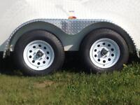 6x12 TANDEM AXLE RAMP DOOR ROYAL LT CARGO *7799 GVWR*