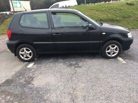 **** BLACK VW POLO FOR SALE ****