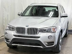 2016 BMW X3 xDrive28i AWD w/ Navigation, Leather, Panoramic Mo