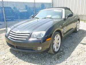2005 CHRYSLER CROSSFIRE CONVERTIBLE LIMITED (FOR PARTS)