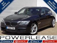 2014 14 BMW 7 SERIES 3.0 ACTIVEHYBRID 7 M SPORT 4D AUTO 316 BHP