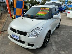 2005 Suzuki Swift RS415 White 5 Speed Manual Hatchback Clontarf Redcliffe Area Preview