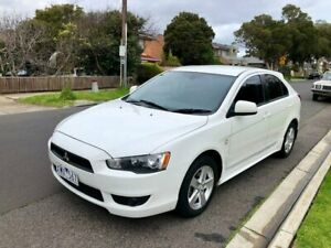2009 Mitsubishi Lancer CJ MY09 VR Sportback White 6 Speed Constant Variable Hatchback Maidstone Maribyrnong Area Preview