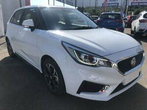 2018 MG MG3 SZP1 MY18 Excite Dover White 4 Speed Automatic Hatchback