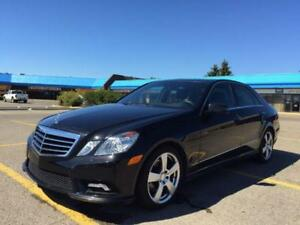 2011 Mercedes E350 4Matic ---$0 DOWN FINANCING, 100% APPROVED
