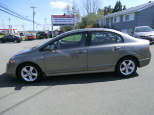 2007 Honda Civic 1 01269 kms  A/C Cruise One Owner