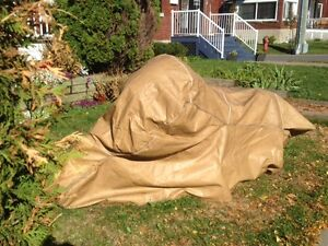 """COUVERTURE """"HEAVY DUTY"""" POUR MOTO/HEAVY DUTY MOTORCYCLE COVER"""