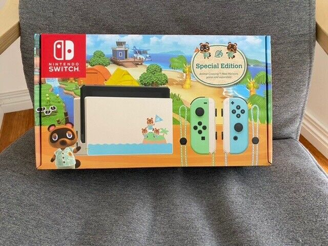 Brand New Limited Edition Animal Crossing Switch Console Other