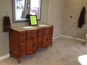 "60"" double vanity what a deal"