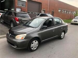 2005 TOYOTA ECHO- manuel- A-C, 1,5litres- ECONOMIC-  1800$