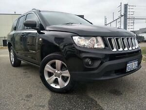 2013 Jeep Compass MK MY14 Sport (4x2) Black 5 Speed Manual Wagon Malaga Swan Area Preview