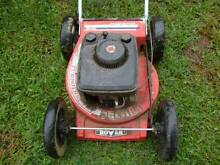 Rover 4 stroke Supercut Turbothrust lawn mower with big wheels Coorparoo Brisbane South East Preview