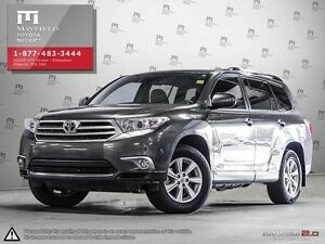 2013 Toyota Highlander V6 Standard package