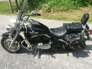 Kawasaki Vulcan 800 with extra's Or trade for boat