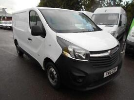 Vauxhall Vivaro SWB 1.6 CDTI 115PS 2.7T VAN DIESEL MANUAL WHITE (2016)