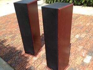 Accusound Floor Speakers (x2) plus centre speaker - Aust. made! Adamstown Newcastle Area Preview