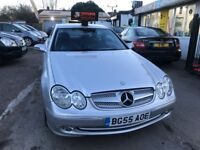 2006 Mercedes CLK 1.8 CLK200 Kompressor AUTOMATIC+FULL LEATHER.07710870813