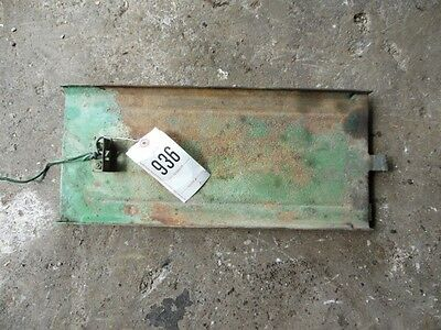 John Deere 1010 Tractor Battery Box Slide Tray Tag 936