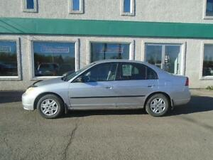 Honda Civic  2003, Automatique!!!!