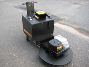 """BRAND NEW NSS 27"""" Battery Burnisher + FREE FLOOR PADS!!"""