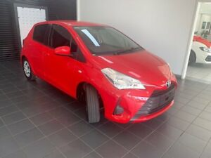 2018 Toyota Yaris NCP130R Ascent Red 4 Speed Automatic Hatchback Berrimah Darwin City Preview