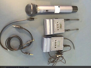 Sony URX-P1 / UTX-B1 Portable Wireless Microphone System