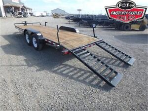 14K - 7 X 20 Equipment Hauler -*CANADIAN MADE*- All In Prices!