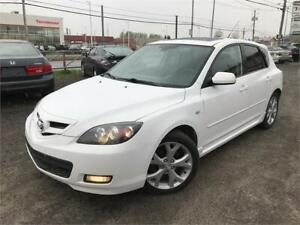 2007 MAZDA3 GT TOIT OUVRANT + BANC CHAUFF. + A/C + MAGS