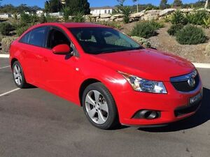 2012 Holden Cruze JH MY12 Equipe Red 6 Speed Automatic Sedan Lisarow Gosford Area Preview