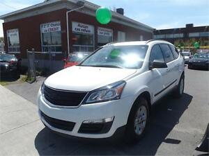 2014 Chevrolet Traverse LS AWD avec camera de recule,8 passagers