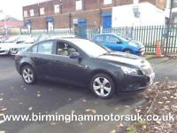 2009 (59 Reg) Chevrolet Cruze 1.8 LT 4DR Saloon BLACK + LOW MILES
