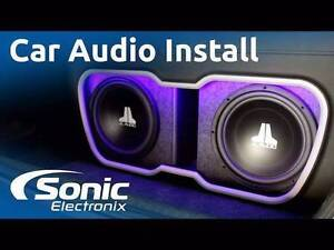 Car audio Install Special Head Unit MP3 Speakers Sub Woofers St Kilda Port Phillip Preview