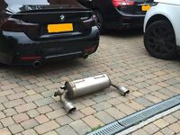 BMW (2015) 435i Genuine Rear Exhaust Silencer