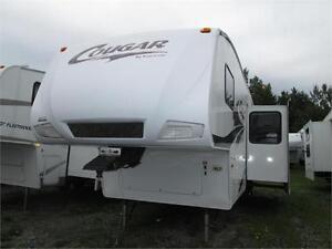 Caravane à sellette Keystone Cougar 290EFS 2006