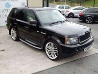 LAND ROVER RANGE ROVER SPORT 2.7 TDV6 HSE 5d AUTO 188 BHP (FINANCE & WARRANTY (black) 2005