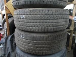 265/70R17 SET OF 4 USED GOODYEAR A/S TIRES