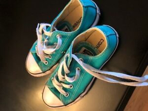 Child size 12 Converse Sneakers in great condition.