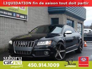 2011 Audi S5 *GARANTIE* *131$/sem 4.2 CUIR, MAGS 20'' ''LOW PRO